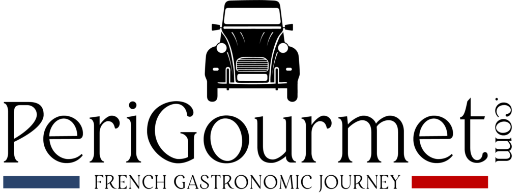 Logo noir Perigourmet Circuit Gastronomique en Dordogne à Sarlat Périgord Noir