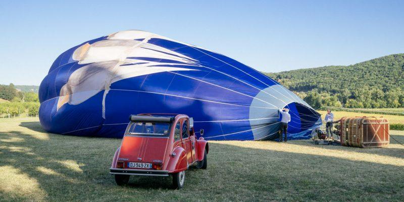 Perigourmet Circuit Gastronomique en Dordogne à Sarlat Périgord Noir Balade en 2CV montgolfière sortie insolite