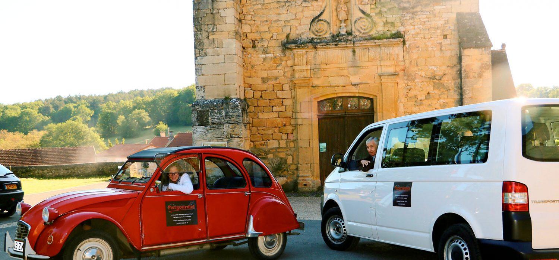 Perigourmet Circuit Gastronomique en Dordogne à Sarlat Périgord Noir Balade en 2CV tourisme terroir villages de charme